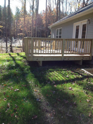 deck installation stafford va